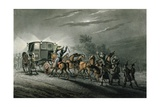The Capture of Bonaparte's Carriage, Paper and Treasure by Major Von Keller, Waterloo, 18th June… Giclee Print by John Heaviside Clark