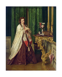 Woman at Her Toilet, 1862 Giclee Print by Gustave Leonard de Jonghe