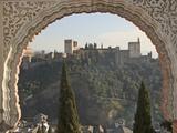 View across Albaicin to La Alhambra Photographic Print
