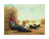 Harvest Time, 1878 Giclee Print by Julien Dupre