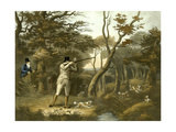 Shooting, Plate 2, Engraved by R.G. Reeve, 1806 Giclee Print by Dean Wolstenholme