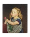 Antonia Franziska Romana Wasmann (1866-1944) 1871 Giclee Print by Rudolph Friedrich Wasmann