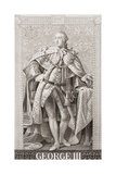 George III (1738-1820) from 'Illustrations of English and Scottish History' Volume II Giclee Print by Allan Ramsay
