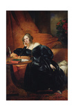The Countess De Lapeyriere Giclee Print by Claude-Marie Dubufe
