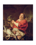 Allegory of the Month of February Giclee Print by Joachim Von Sandrart