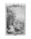 Allegory of Nature, Engraved by Charles Gaucher, 1773 Giclee Print by Charles Joseph Dominique Eisen