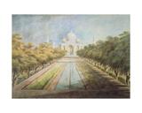 Taj Mahal Giclee Print by Sita Ram