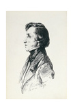 Portrait of Frederic Chopin (1810-49) 1847 Giclee Print by Franz Xaver Winterhalter