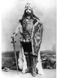 Maurice Renaud (1861-1933) as Harald in 'Gwendoline' by Emmanuel Chabrier (1841-94) Photographic Print by  Benque Studio