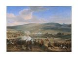 The Battle of the Boyne on 12th July 1690, 1690 Giclee Print by Jan Wyck