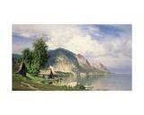 Norwegian Fjord Giclee Print by Hugo Knorr