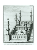 View of the Great Mosque at Medina before the Desecration of the Tombs by the Wahhabi Sect, from… Giclee Print