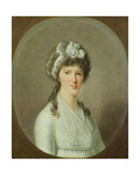 Portrait of a Young Woman, 1799 Giclee Print by Christoph Suhr