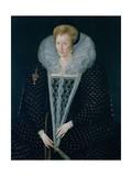 Queen Elizabeth I (1533-1603) Giclee Print by Nicholas Hilliard
