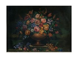 Vase with Flowers Giclee Print by Emilie Preyer