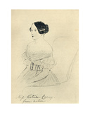 Miss Victoire Conroy Giclee Print by  Queen Victoria