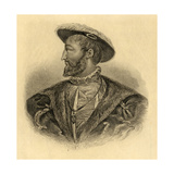 King Francois I (1494-1547) Giclee Print