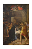 Adoration of the Shepherds, 1584 Giclee Print by Camillo Procaccini