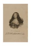 Portrait of Francois VI (1613-80) Duke of La Rochefoucauld Giclee Print by Francois Seraphin Delpech