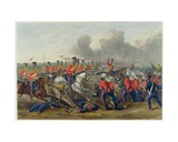 Charge of the 16th (Queen's Own) Lancers at the Battle of Aliwal on 28th January 1846 Giclee Print by Henry Martens