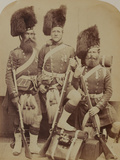 Gardner, Mckenzie and Glen, 42nd (The Royal Highland) Regiment of Foot Photographic Print by  Joseph Cundall and Robert Howlett