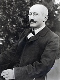 Alfred Dreyfus at the Time of His Return from Exile and Imprisonment, 1899 Photographic Print by A. Gerschel