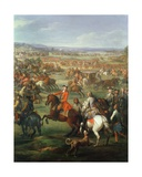 The Battle of Blenheim on the 13th August 1704, C.1743 (Detail) Giclee Print by John Wootton