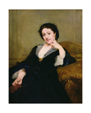 Madeleine Brohant (1833-1900) of the Comedie-Francaise, 1860 Giclee Print by Paul Baudry