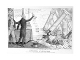 Downfall of Mother Bank, 1833 Giclee Print by Edward Williams Clay
