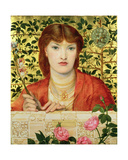 Regina Cordium: Alice Wilding, 1866 Giclee Print by Dante Charles Gabriel Rossetti
