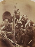 Reynolds, Temple and Judd, Scotch Fusiliers Guards Photographic Print by  Joseph Cundall and Robert Howlett