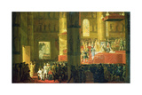 The Coronation of the Empress Maria Fyodorovna (1759-1828) 1797 Giclee Print by Horace Vernet