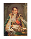 Napoleon I (1769-1821) King of Italy, C.1805-10 Giclee Print by Andrea the Elder Appiani