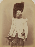 Drummer John Rennie, 72nd (Duke of Albany's Own Highlanders) Regiment of Foot Photographic Print by  Joseph Cundall and Robert Howlett
