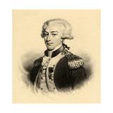 Marie Joseph Paul Yves Roch Gilbert Du Motier (1757-1834) Marquis De Lafayette Giclee Print