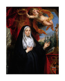 Portrait of the Infanta Isabella Clara Eugenia as a Tertiary in the Order of St Francis Giclee Print by Jacob Jordaens