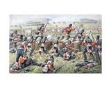 The 23rd Regiment Royal Welsh Fusiliers at the Battle of the Alma on 20th September, 1854 Giclee Print by Richard Simkin