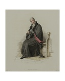Master of Arts, Engraved by J. Agar, Published in R. Ackermann's 'History of Oxford', 1814 Giclee Print by Thomas Uwins