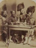42nd Highlanders Photographic Print by  Joseph Cundall and Robert Howlett