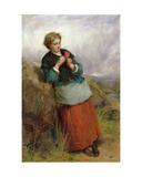 The Flower of Dunblane, 1867 Giclee Print by Thomas Faed