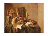 Vanitas Still Life Giclee Print by Jacques de Claeuw