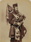 Pipe-Major Macdonald, 72nd (Duke of Albany's Own Highlanders) Regiment of Foot Photographic Print by Joseph Cundall and Robert Howlett