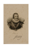 Henri IV (1553-1610) of France Giclee Print by Francois Seraphin Delpech