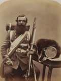 Sergeant Knapp, Coldstream Guards Photographic Print by  Joseph Cundall and Robert Howlett