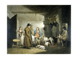 Inside a Country Alehouse, Engraved by William Ward, 1797 Giclee Print by  G. Morland and J. Ward