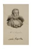 Portrait of the Marquise De Pompadour (1721-64) Giclee Print by Francois Seraphin Delpech