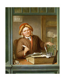 A Tax Collector, 1745 Giclee Print by Tibout Regters