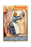 The Couturier, 1899 Giclee Print