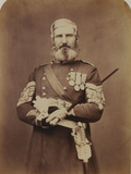 Sergeant-Major Edwards, Scotch Fusiliers Guards Photographic Print by  Joseph Cundall and Robert Howlett