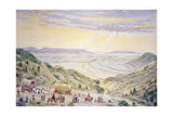 Mormons Descending Little Mountain into Salt Lake City, Utah Giclee Print by William Henry Jackson